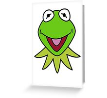 Kermit the Frog T-shirt The Muppets Greeting Card
