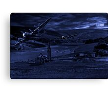 Thunder in the Valley Canvas Print