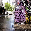 City Lane Graffiti #4 by axemangraphics