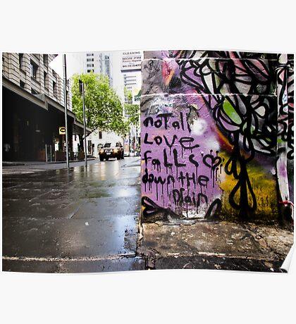 City Lane Graffiti #4 Poster
