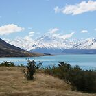 Lake Pukaki and Mount Cook - New Zealand by Nicola Barnard