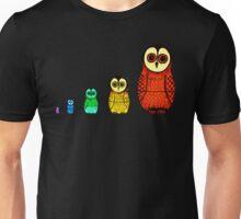 Babushka Owls (Colour) Unisex T-Shirt