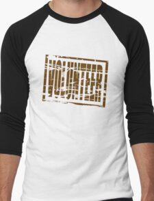 Volunteer rubber stamp effect Men's Baseball ¾ T-Shirt