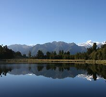 Lake Matheson - New Zealand by Nicola Barnard