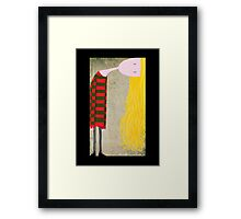 Unadjusted Framed Print