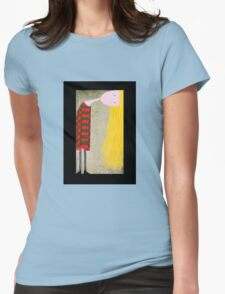 Unadjusted Womens Fitted T-Shirt