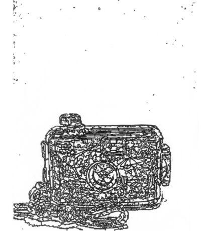 LINEart camera 09: Toy camera Sticker