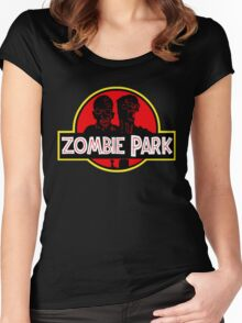 Zombie Park Women's Fitted Scoop T-Shirt