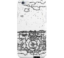 LINEart camera 08: Fujica MA-1 iPhone Case/Skin