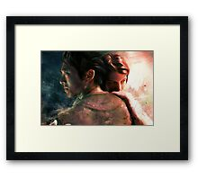 Live for Love/Fight for Live Framed Print