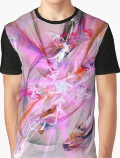 Pink Chaos Graphic T-Shirt