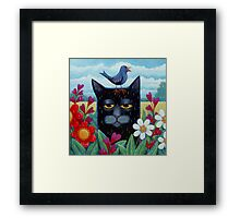 Long Blue Summer Framed Print