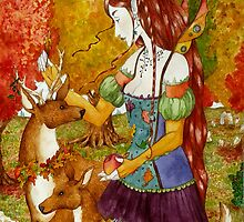 Autumn Queen by Neely Stewart