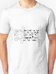 Moon and Stars Quote T-Shirt