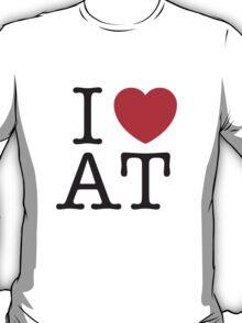 I HEART AMERICAN TYPEWRITER T-Shirt