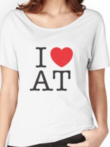 I HEART AMERICAN TYPEWRITER Women's Relaxed Fit T-Shirt