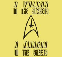 A Vulcan in the Streets - A Klingon in the Sheets by CalumCJL
