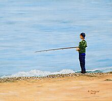 Gone Fishing by Linda Marques