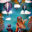 Hot Air Balloons by © Karin Taylor