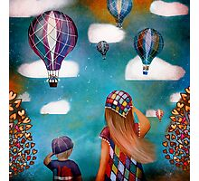 Hot Air Balloons Photographic Print