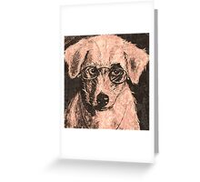 doggy Vision Greeting Card