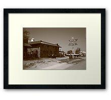 Route 66 - Rock Cafe Framed Print