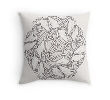 Capaill Uisce  Throw Pillow