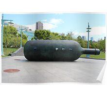 Hudson River Park Bottle… Poster