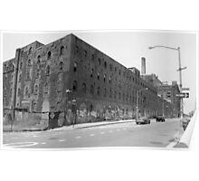 Domino Sugar Refinery Brooklyn, NY (Landmark) Poster