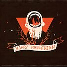 Leviathan - SPN Halloween Card by Risa Rodil