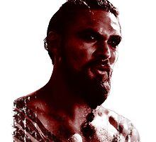Blood Covered Drogo by MrDave888