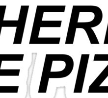 Where's the pizza? Sticker