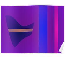 Purple Minimalism Poster