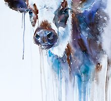 Cow by Slaveika Aladjova