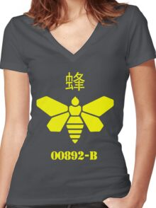 Meth Barrel Logo - Breaking Bad Women's Fitted V-Neck T-Shirt