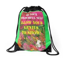 EXPERIENCE YOUR DREAMS Drawstring Bag