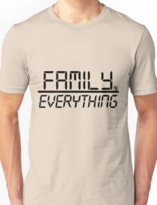 Family Over Everything (Black) T-Shirt
