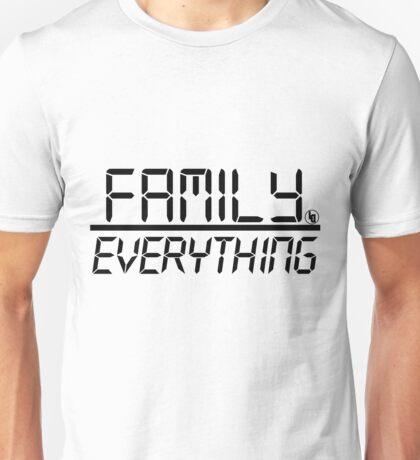 Family Over Everything (Black) Unisex T-Shirt