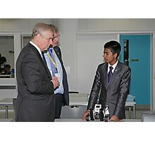 Andrew, The Duke of York opens the Royal Greenwich University Technical College Photographic Print