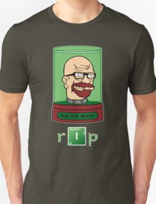 Walter White's Head In A Jar - Breaking Bad / Futurama Mashup T-Shirt