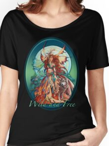 Wolf Fairy Women's Relaxed Fit T-Shirt