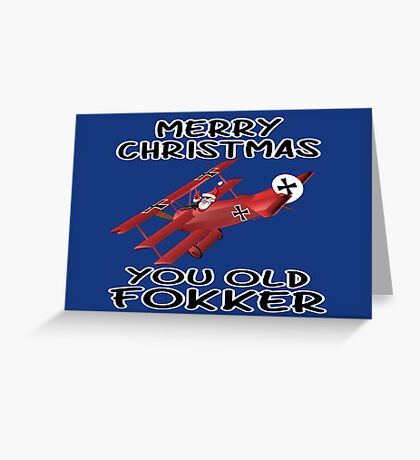 Funny Christmas Greeting Card