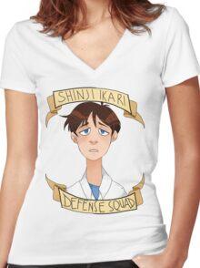 S.I.D.S. Women's Fitted V-Neck T-Shirt