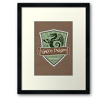 Green Dragon - Bywater Framed Print