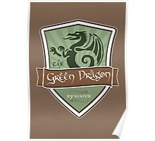Green Dragon - Bywater Poster