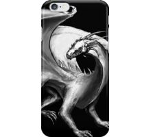 Black and White Dragon iPhone Case/Skin