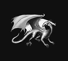 Black and White Dragon Unisex T-Shirt