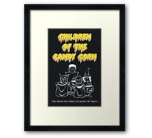 Children of the Candy Corn Framed Print