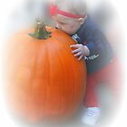 pumpkin kissing a pumpkin by jeanlphotos
