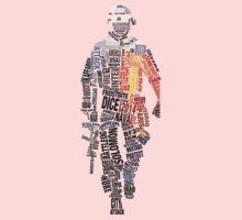 Battlefield Typography One Piece - Short Sleeve